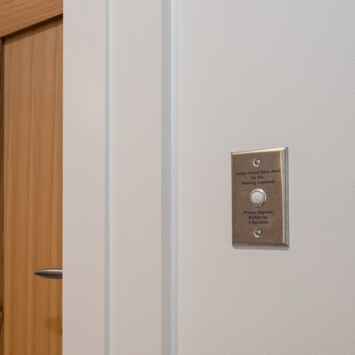 ADA Guest Room Visual Doorbell Feature