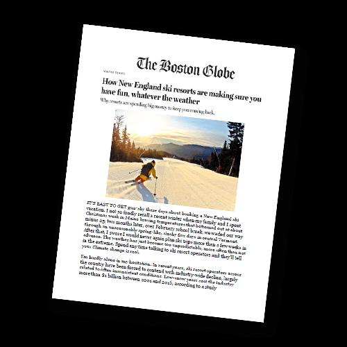 the boston globe williams inn winter ski package 2019